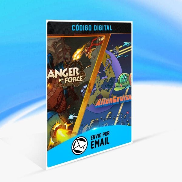 AngerForce and AlienCruise Arcade Shooting Bundle - Xbox One Código 25 Dígitos