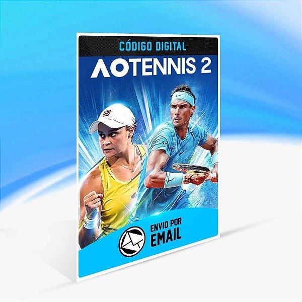 AO Tennis 2 - Xbox One Código 25 Dígitos