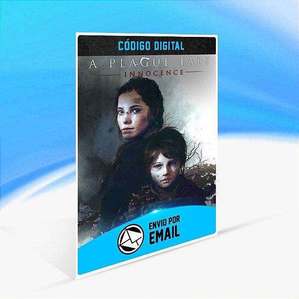 A Plague Tale: Innocence - Xbox One Código 25 Dígitos