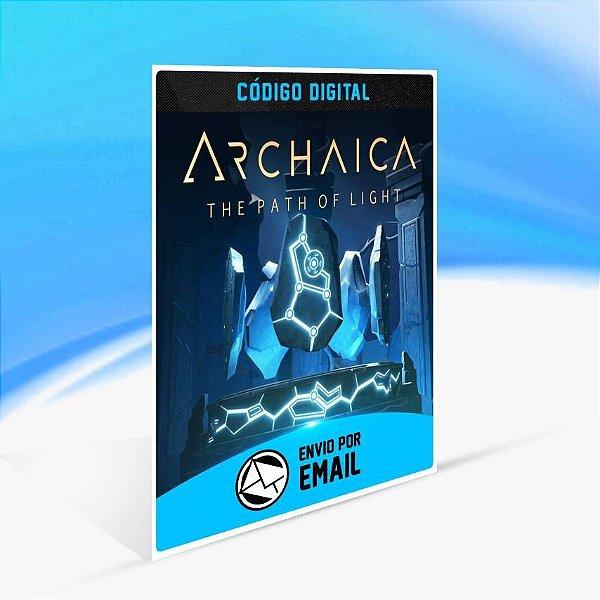 Archaica: The Path Of Light - Xbox One Código 25 Dígitos