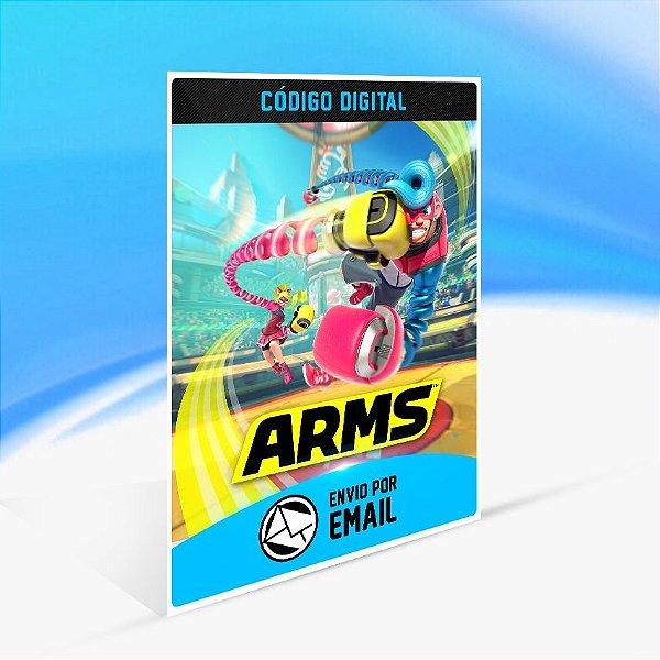 Arms - Nintendo Switch Código 16 Dígitos