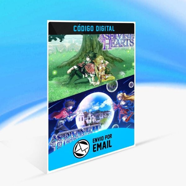 Asdivine Hearts I & II - Xbox One Código 25 Dígitos