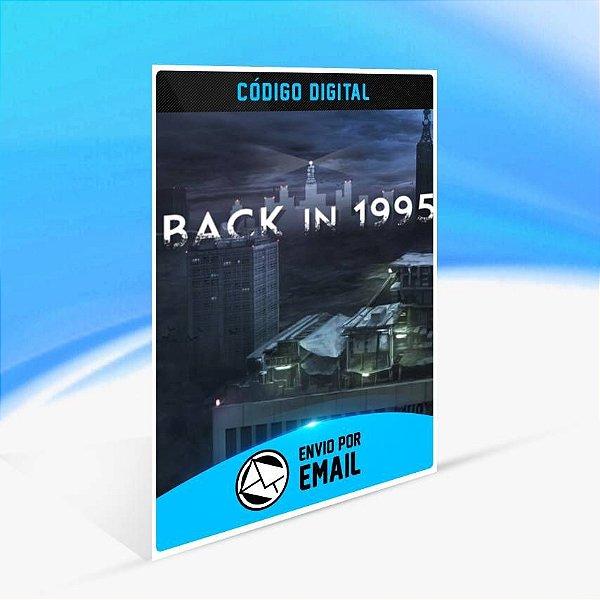 Back in 1995 - Xbox One Código 25 Dígitos