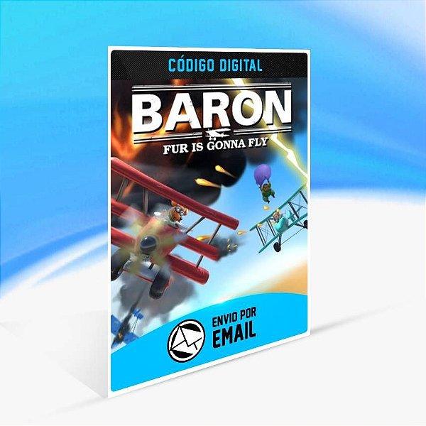 Baron: Fur Is Gonna Fly - Xbox One Código 25 Dígitos