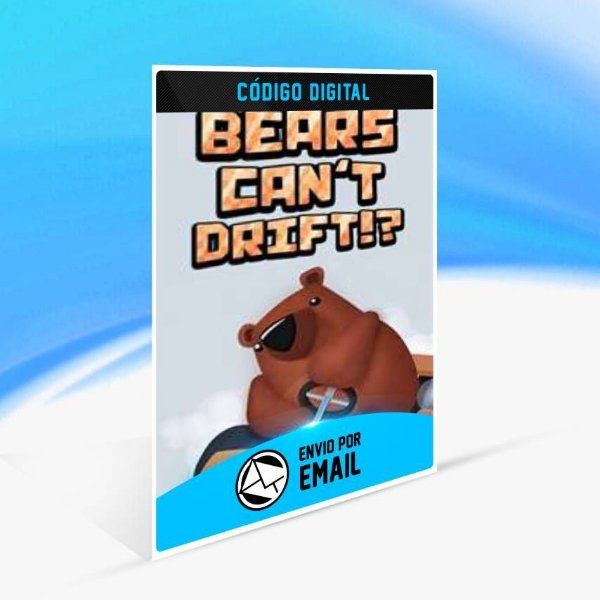 Bears Can't Drift!? - Xbox One Código 25 Dígitos