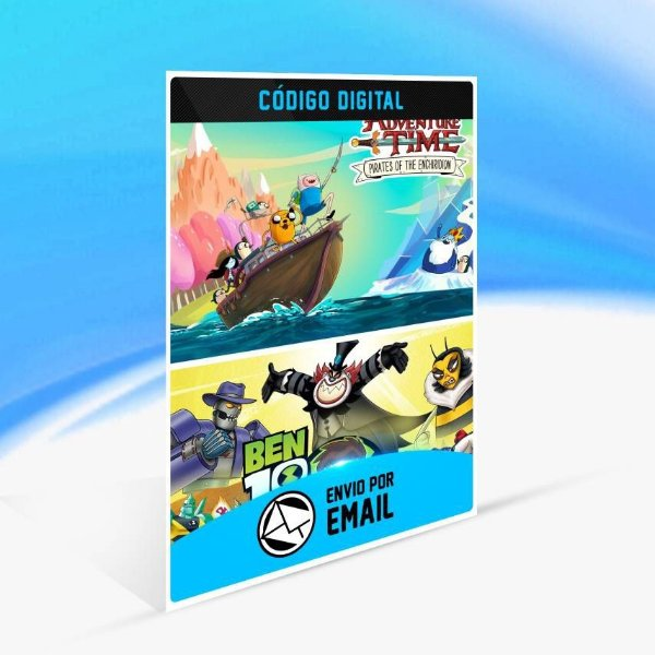 Ben 10 and Adventure Time: Pirates of the Enchiridion Bundle - Xbox One Código 25 Dígitos