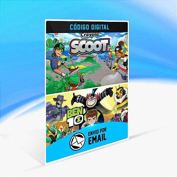 Ben 10 and Crayola Scoot Bundle - Xbox One Código 25 Dígitos