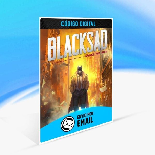 Blacksad: Under the Skin - Xbox One Código 25 Dígitos