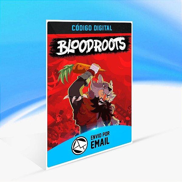 Bloodroots - Nintendo Switch Código 16 Dígitos