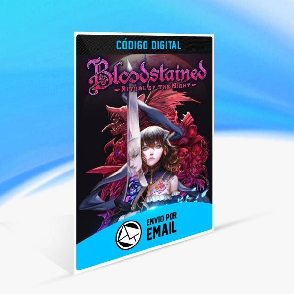 Bloodstained: Ritual of the Night - Xbox One Código 25 Dígitos