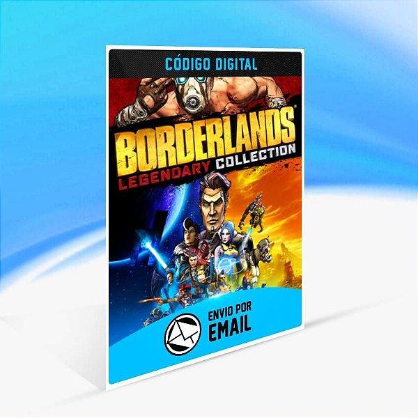 Borderlands Legendary Collection - Xbox One Código 25 Dígitos