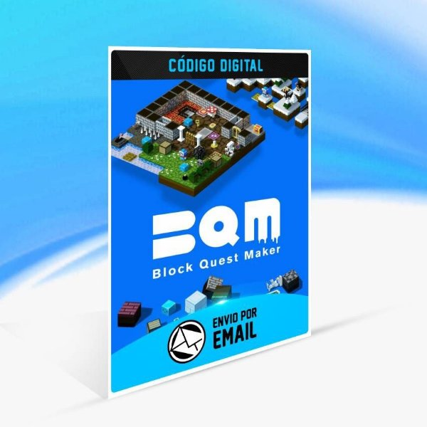 BQM - BlockQuest Maker - Xbox One Código 25 Dígitos