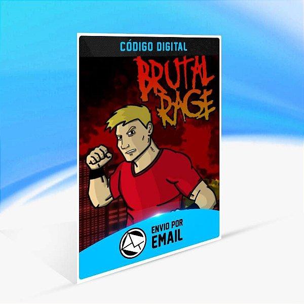 BRUTAL RAGE - Xbox One Código 25 Dígitos
