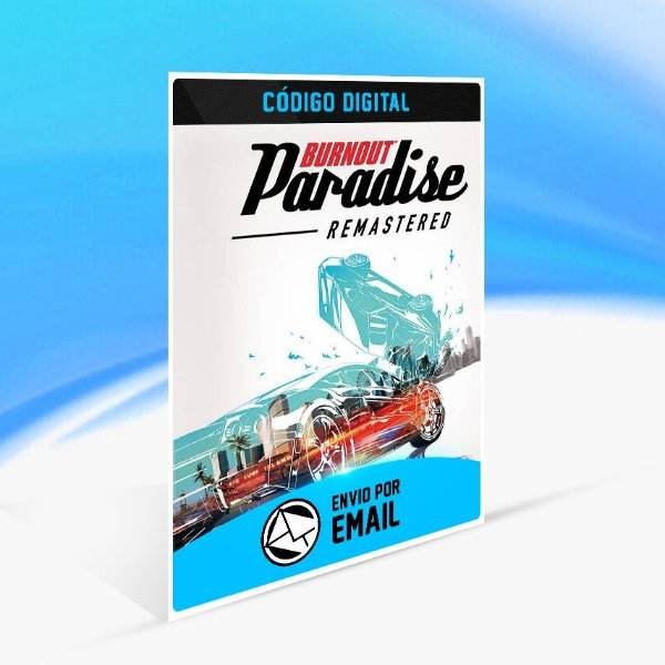 Burnout Paradise Remastered - Nintendo Switch Código 16 Dígitos