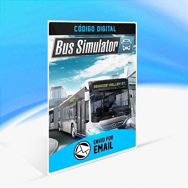 Bus Simulator - Xbox One Código 25 Dígitos