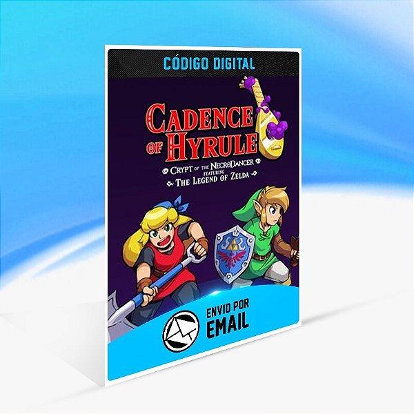 Cadence of Hyrule – Crypt of the NecroDancer Featuring The Legend of Zelda - Nintendo Switch Código 16 Dígitos