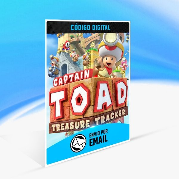 Captain Toad Treasure Tracker - Nintendo Switch Código 16 Dígitos