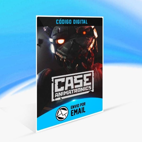 CASE: Animatronics - Xbox One Código 25 Dígitos