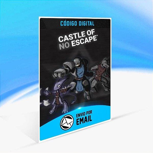 Castle of no Escape - Xbox One Código 25 Dígitos