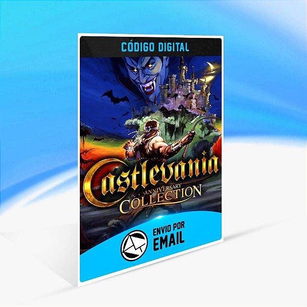 Castlevania Anniversary Collection - Xbox One Código 25 Dígitos