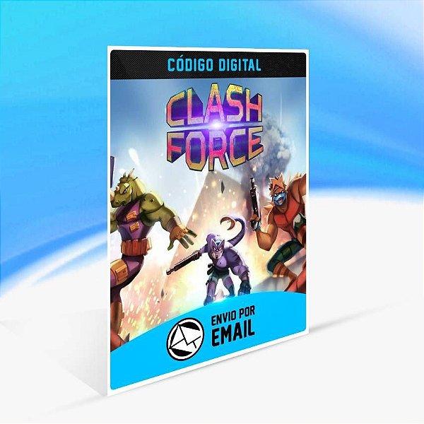 Clash Force - Xbox One Código 25 Dígitos