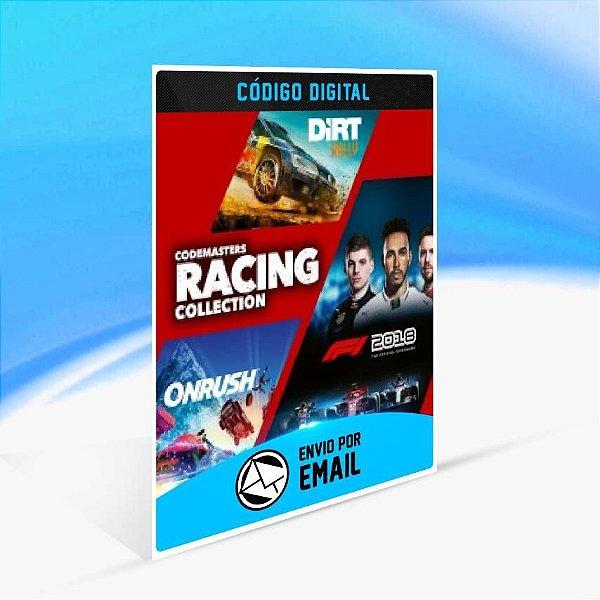 Codemasters Racing Collection - Xbox One Código 25 Dígitos