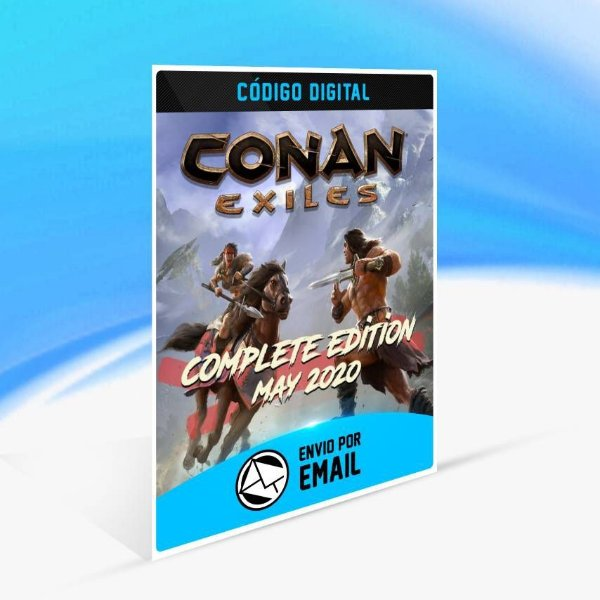Conan Exiles – Complete Edition, maio de 2020 - Xbox One Código 25 Dígitos