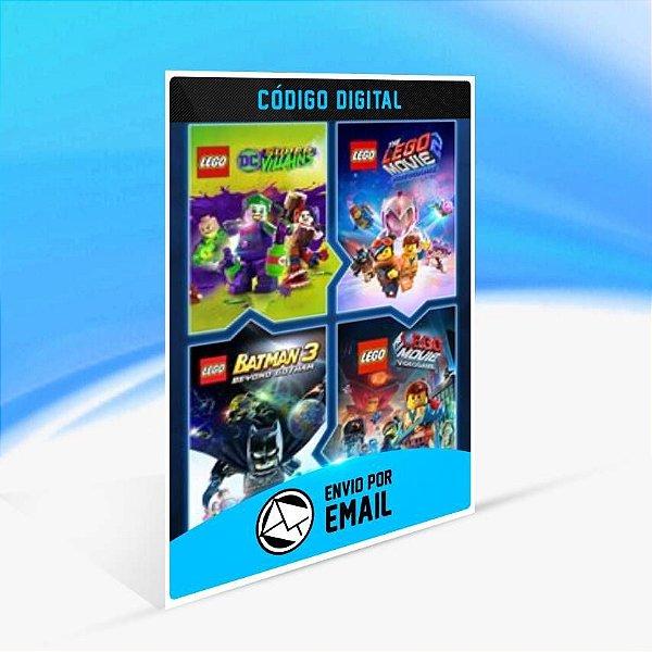 Conjunto de Jogos LEGO - Xbox One Código 25 Dígitos