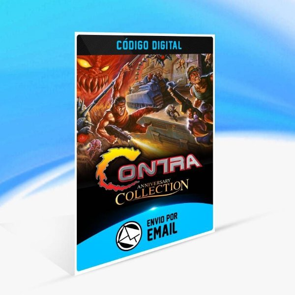 Contra Anniversary Collection - Xbox One Código 25 Dígitos