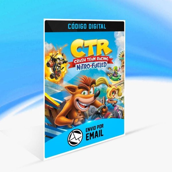 Crash Team Racing Nitro-Fueled  - Xbox One Código 25 Dígitos