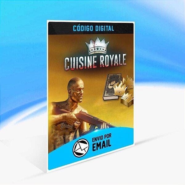 Cuisine Royale - Elite Bundle - Xbox One Código 25 Dígitos