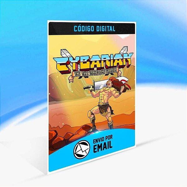 Cybarian: The Time Traveling Warrior - Xbox One Código 25 Dígitos