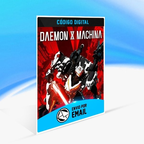 DAEMON X MACHINA - Nintendo Switch Código 16 Dígitos