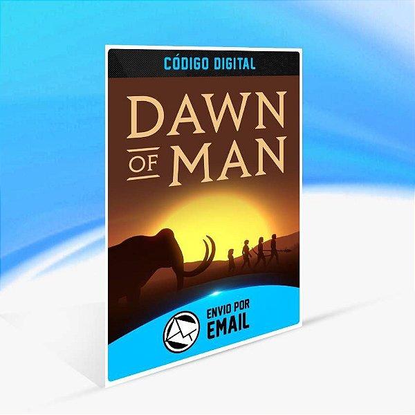 Dawn of Man - Xbox One Código 25 Dígitos
