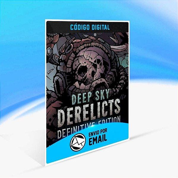 Deep Sky Derelicts: Definitive edition - Xbox One Código 25 Dígitos