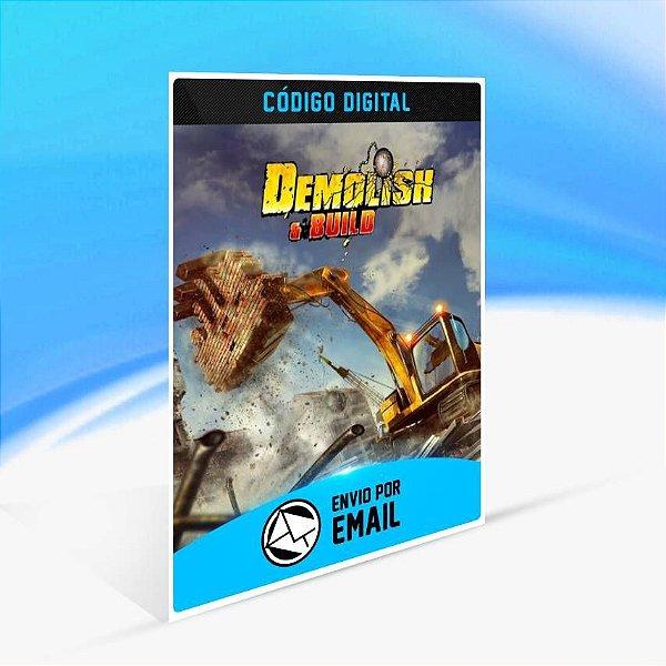 Demolish & Build - Xbox One Código 25 Dígitos