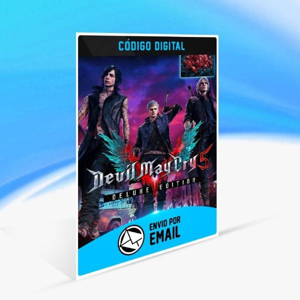 Devil May Cry 5 Deluxe Edition (with Red Orbs) - Xbox One Código 25 Dígitos