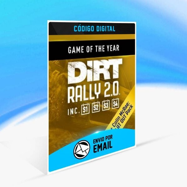 DiRT Rally 2.0 - Game of the Year Edition - Xbox One Código 25 Dígitos