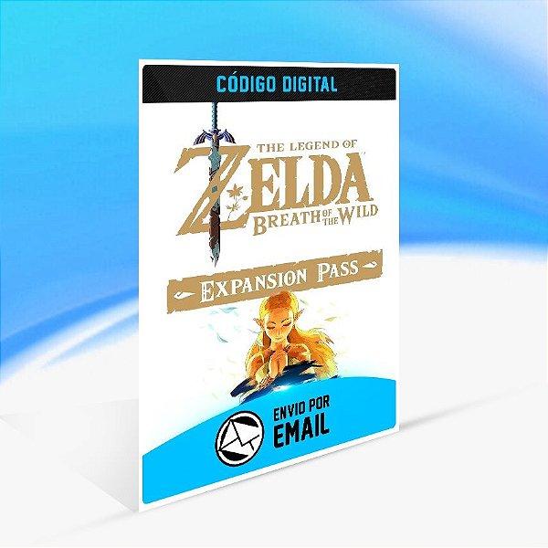 DLC The Legend of Zelda  Breath of the Wild Expansion Pass - Nintendo Switch Código 16 Dígitos