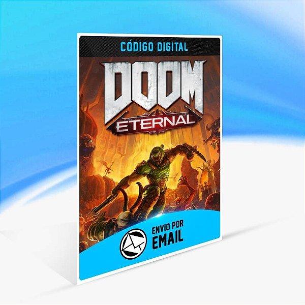 DOOM Eternal Standard Edition - Xbox One Código 25 Dígitos