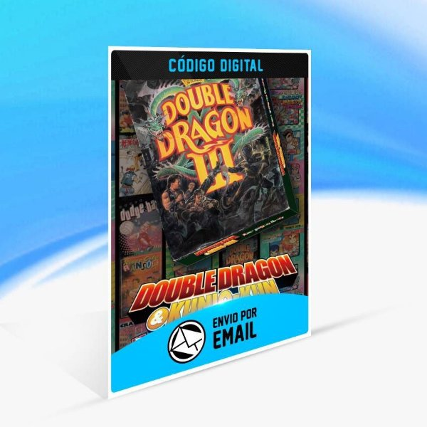 DOUBLE DRAGON Ⅲ: The Sacred Stones - Xbox One Código 25 Dígitos