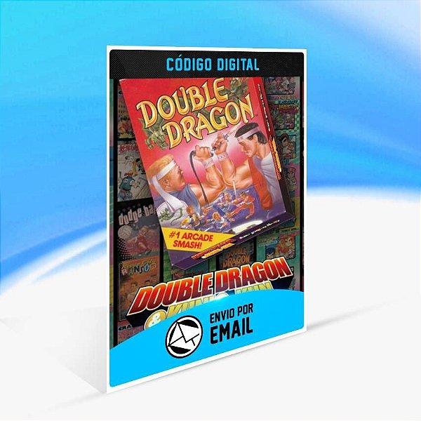 DOUBLE DRAGON - Xbox One Código 25 Dígitos