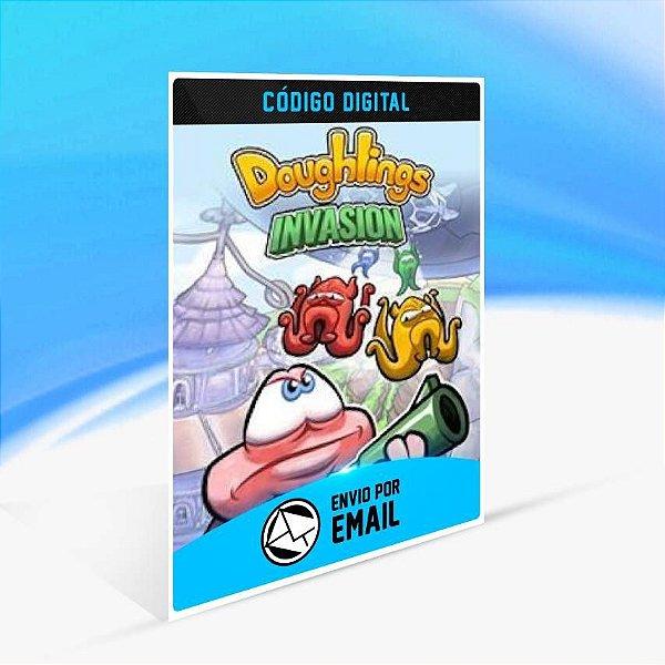 Doughlings: Invasion - Xbox One Código 25 Dígitos