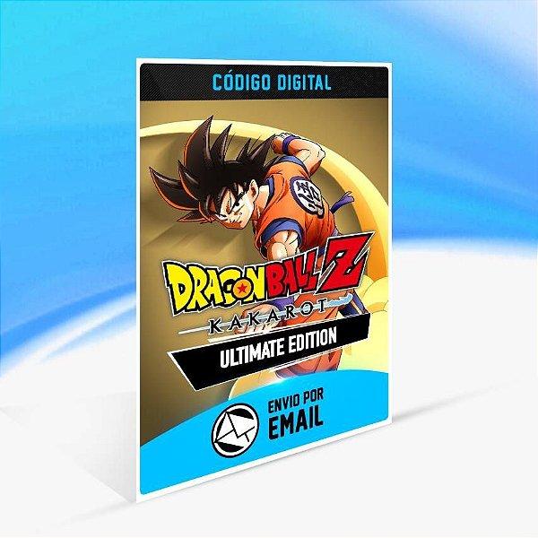 DRAGON BALL Z: KAKAROT - Edição Definitiva - Xbox One Código 25 Dígitos