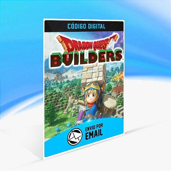 Dragon Quest Builders - Nintendo Switch Código 16 Dígitos