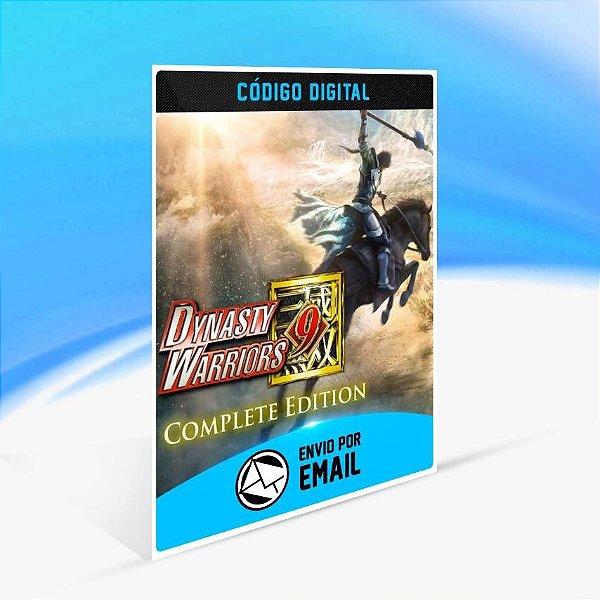 DYNASTY WARRIORS 9 Complete Edition - Xbox One Código 25 Dígitos
