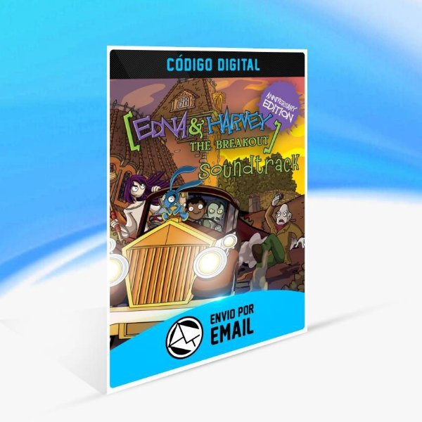 Edna & Harvey: The Breakout - Anniversary Edition - Xbox One Código 25 Dígitos