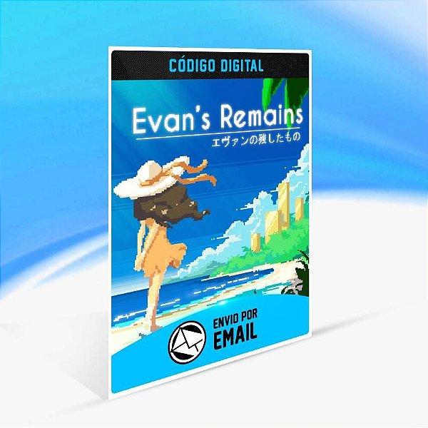 Evan's Remains - Xbox One Código 25 Dígitos