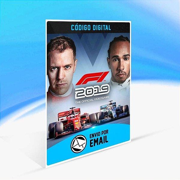 F1 2019 - Xbox One Código 25 Dígitos