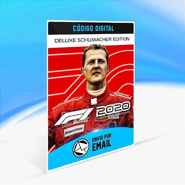 F1 2020 Deluxe Schumacher Edition - Xbox One Código 25 Dígitos